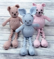 105f0326d Cottontail Crafts - Knitting Pattern - Peter Pan P1309 - Cat